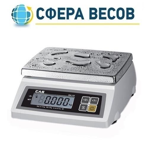 Весы фасовочные CAS SW-5W (5 кг)