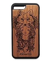 Деревянные чехлы для iphone 7\7s Full Protected