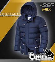 Модная куртка с мехом мужская
