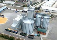 Монтаж силосов для хранения зерна с плоским и конусным дном Турецкого производителя