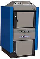 Твердотопливный котел ATMOS DC 24 RS (брикеты и дерево)