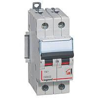 Автоматический выключатель ТX3 2р 25А С 6кА Legrand