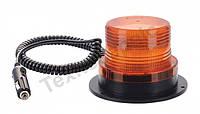 Маячок проблесковый оранжевый LED на магните Турция EMR-11
