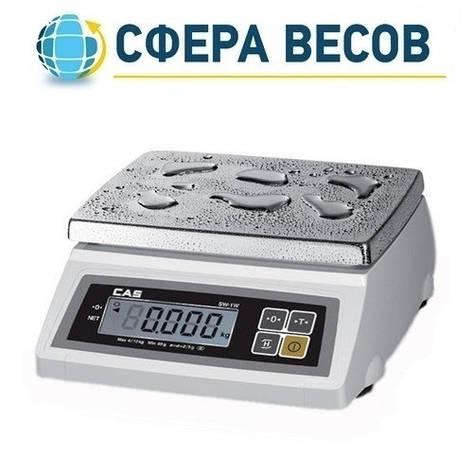 Весы для простого взвешивания CAS SW-20W (20 кг), фото 2