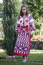Юбка женская с вышивкой