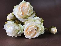Бумажные цветы Розы ручной работы
