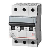 Автоматический выключатель ТX3 3р 25А С 6кА Legrand