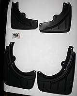 Брызговики на автомобиль Porsche Cayenne 2003-2010 гг. (4 шт, передние + задние)