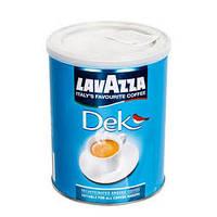 Кофе молотый Lavazza Dec Decaffeinato без кофеина, 250 г ж/б