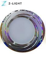 Led точечный потолочный светильник 7W 4500K серебро круг Z-Light ZL2006-3