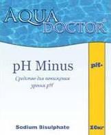 Химия для бассейна PH- AquaDoctor 5кг.  средство для понижения уровня PH