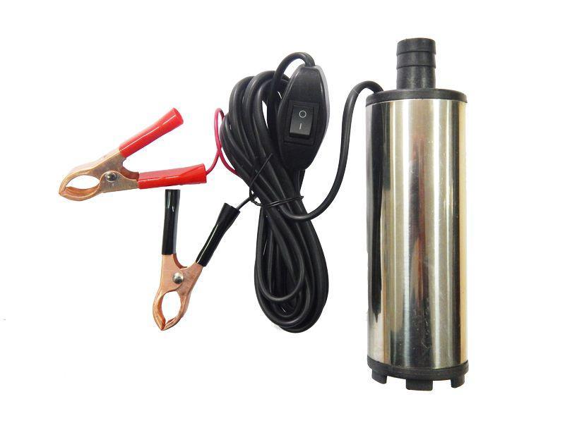 Насос для перекачки топлива (12В, диам. 51 мм, мощность 60Вт, 30 л/мин., диам. выходного отверстия 19мм, 8500