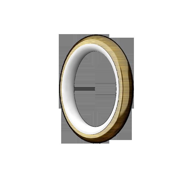 Кольцо карнизное безшумное для трубы Ø28мм
