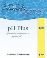 Химия для бассейна PH+ AquaDoctor 5кг. Средство для повышения уровня PH