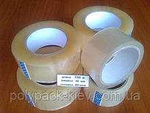Скотч 100м./48мм./40мкм. упаковочный, прозрачный, прочный, упаковочная клейкая лента купить