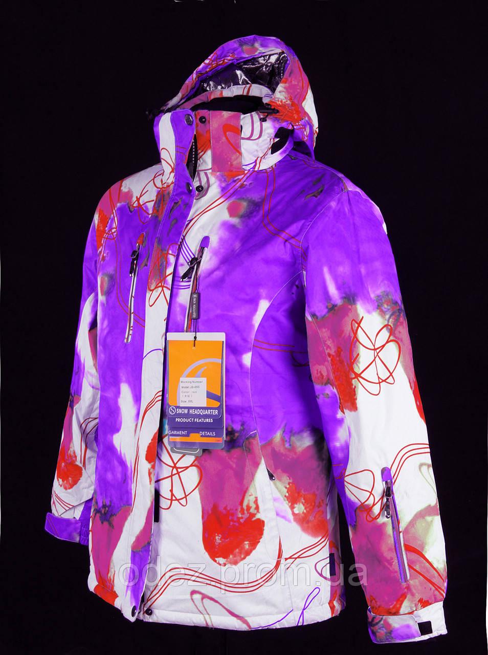 b77d5c381e4 Женский горнолыжный (лыжный) костюм Snow headquarter c Omni-Heat - Интернет -магазин