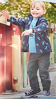 Детские утепленные штаны из европы на мальчика от impidimpi рост 86 92