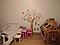 "Дитяча наклейка на стіну ""Дерево в смужку"", фото 3"