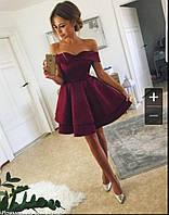 Женское модное платье с пышной юбкой