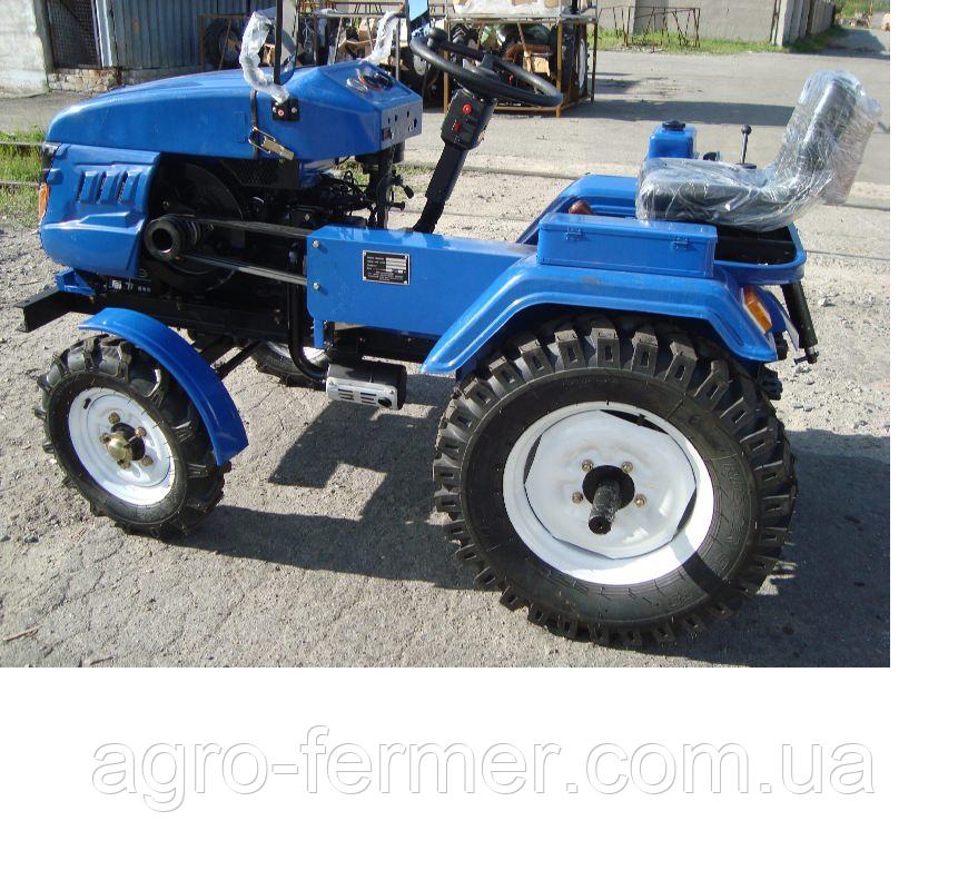 Міні-трактор, Трактор DW 160LXL 16 л. с., з блокуванням дифферинциала (безкоштовна доставка)