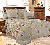 Двуспальное постельное белье Позолота, перкаль 100% хлопок