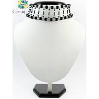 """Эксклюзивное ожерелье из агата """"Новогодняя роскошь"""""""