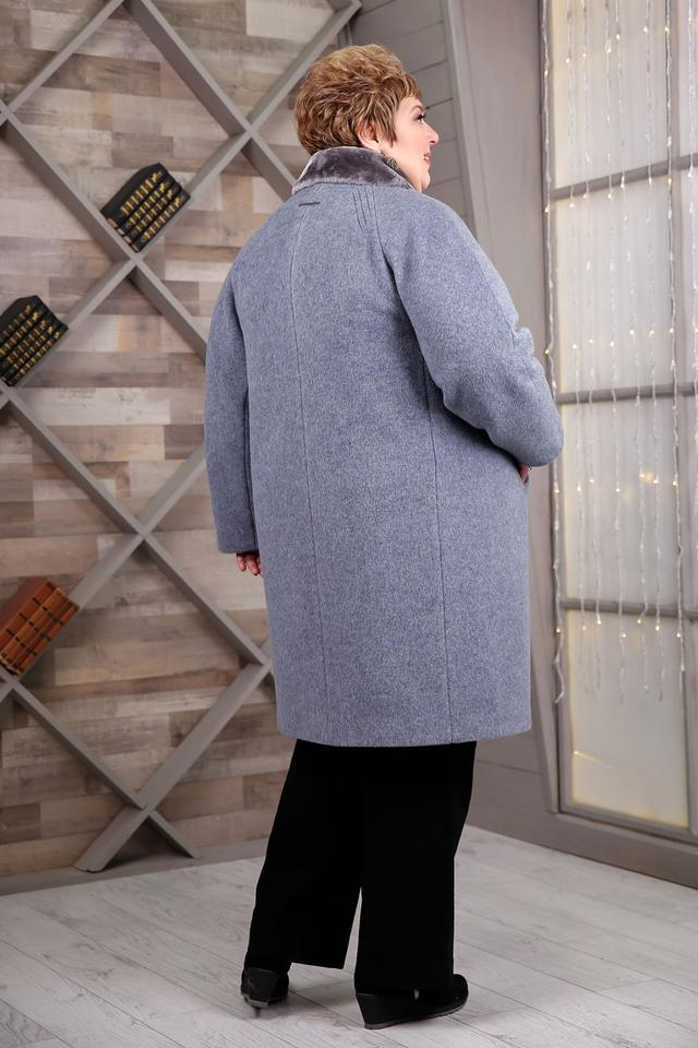 Зимнее женское теплое пальто очень большого размера 64 406b22841d729