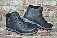 Мужские зимние ботинки (туфли) берцы Viva Вива кожаные