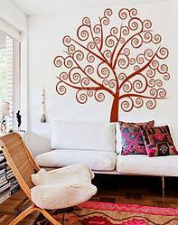 """Виниловая наклейка на обои  """"Дерево жизни"""""""