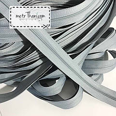 Молния рулонная серого цвета, Т3 (метражом и оптом) №316