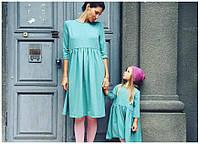 Женское платье (мама и дочка)