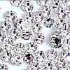 Стразы стекло ss3 Crystal, 50 шт, аналог Swarovski