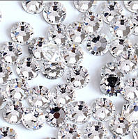 Стразы стекло ss3 Crystal, 100 шт,  Swarovski