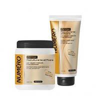 Маска для волос восстанавливающая с экстрактом овса Brelil Numero Numero Total Repair Mask 300 мл