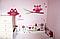 """Вінілова наклейка на шпалери в дитячу """"Польові квіти"""", фото 3"""