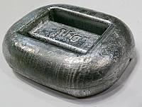 Груз для подводной охоты 1 кг; закруглённый