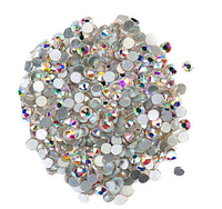 Стразы стекло ss3 AB, Crystal, 50 шт, аналог Swarovski