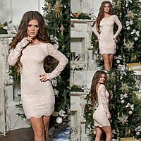 Женское гипюровое платье маленького размера