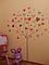 """Дитяча наклейка на шпалери """"Сердечка на дереві"""", фото 10"""