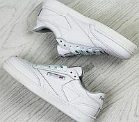 Кроссовки подростковые Reebok 3953 белые, фото 1