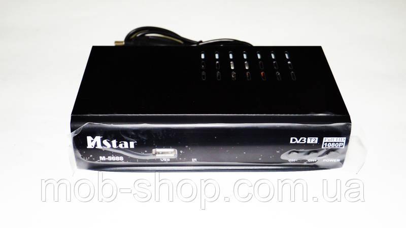 Т2 приставка Внешний тюнер Mstar M-5688 DVB-T2 USB+HDMI