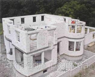 Ставка на газобетон - основні принципи влаштування стін з газоблоків, їх обробка, влаштування фасадів