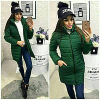 Женское зимнее пальто удлиненное, фото 1