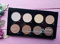 Палитра для контуринга лица - NYX Highlight & Contour Pro Palette