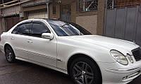 Ветровики Mercedes Benz E-class (w211) 2002-2009