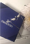 Браслет Swarovski крылья белые, фото 4