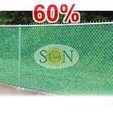 Сетка затемняющая, маскировочная в рулоне 8*50м 60% ЕС, фото 4