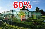 Сетка затемняющая, маскировочная в рулоне 8*50м 60% ЕС, фото 7