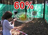 Сетка затемняющая, маскировочная в рулоне 8*50м 60% ЕС, фото 8