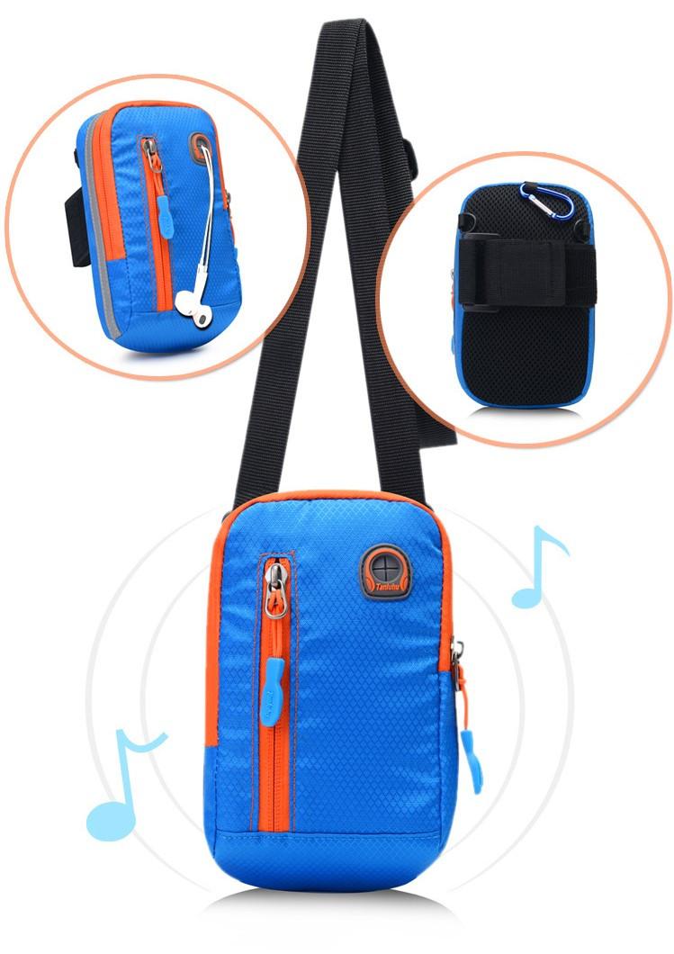 163eef5aed1c Сумка на руку, на пояс, через плечо для телефона многофункциональная Tanluhu  blue